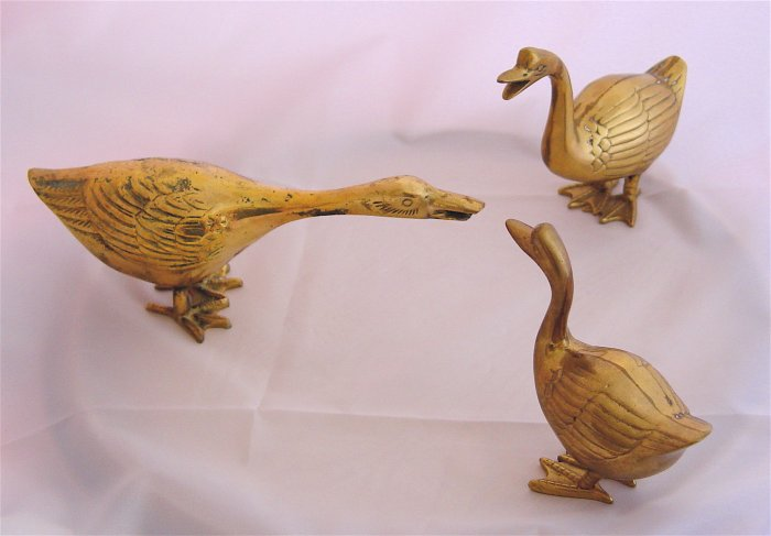 GEESE - Brass (3 pcs) - AWESOME!