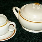 Soup Tureen + Gravy Boat - Autumn Collection SANIBEL