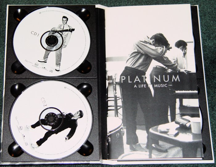 "ELVIS PRESLEY PLATINUM 4 CDs ""A LIFE IN MUSIC"""