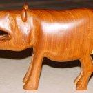PIG or BOAR - Hand Carved Wooden Sculpture - Folk Art