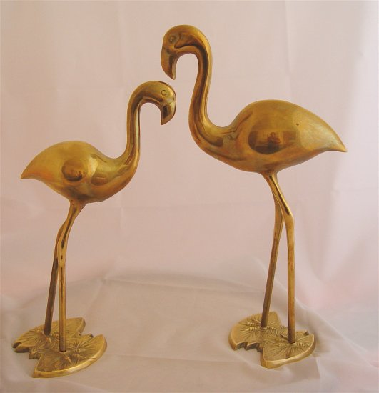 FLAMINGOS Brass (2 pcs) - AWESOME!