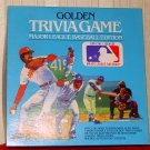 GOLDEN TRIVIA GAME SET - Major League Baseball Edition