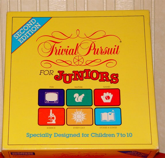 Parker Brothers TRIVIAL PURSUIT for Juniors 2nd Edition