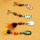 MEPPS AGLIA Spinner Lures -Made in France (4 Lures)