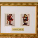 HUMMEL - Reproduction Prints - Set of 3 - Framed