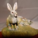 RABBIT - AUDUBON COLLECTION - Porcelain - VINTAGE