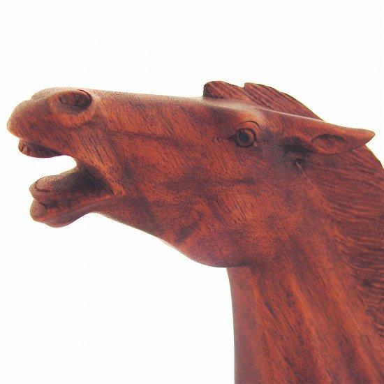 HORSE - Wood Sculpture - NEW