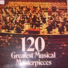 120 GREATEST MUSICAL MASTERPIECES 4 LP Records Stereo