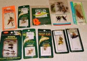 FISHING TACKLE - Assorted Flies, Flies, Flies