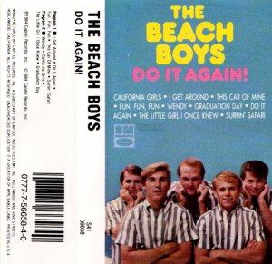 Beach Boys Do It Again Cassette Tape