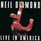 Neil Diamond Live in America Cassette Tape