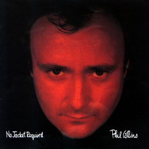 Phil Collins No Jacket Required Cassette Tape