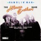 Allman Brothers Band Ramblin' Man Cassette Tape