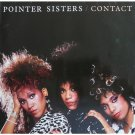 Pointer Sisters Contact Cassette Tape