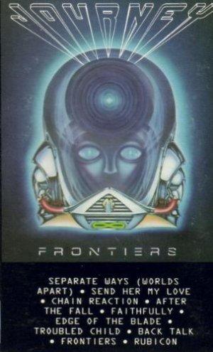 Journey Frontiers Cassette Tape