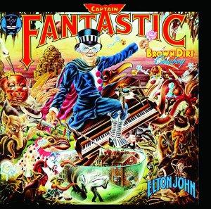 Elton John Captain Fantastic and The Brown Dirt Cowboy Cassette Tape
