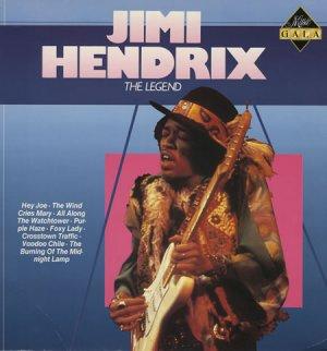 Jimi Hendrix The Legend Cassette Tape