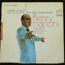 Henry Mancini Encore More Concert Sounds of Henry Mancini- LP