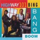 Highway 101 Bing Bang Boom Cassette Tape