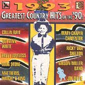Greatest Country Hits of The 90's - 1993 Cassette Tape