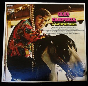Glen Campbell A Satisfied Man - LP