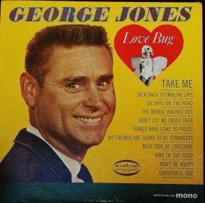 George Jones Love Bug - LP