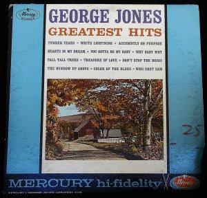 George Jones Greatest Hits - LP