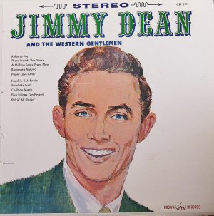 Jimmy Dean And The Western Gentlemen - LP