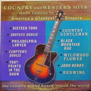 Country And  Western Hits - LP