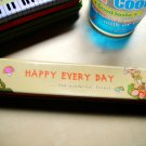 Cute Korean Tin Pencil Case (Happy Day)