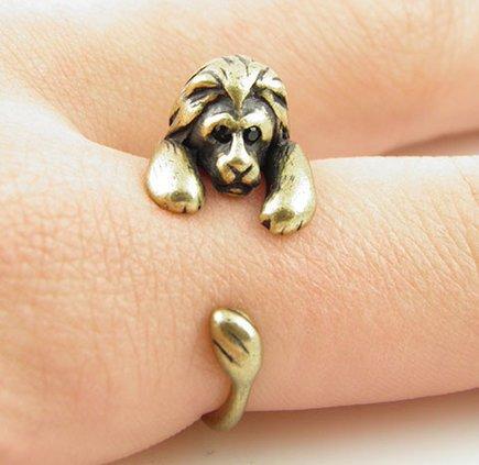 Vintage Style Lion Ring (adjustable)