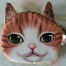 Cat Purse (White/Orange)