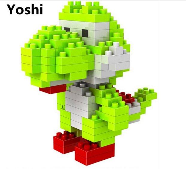 Yoshi Mini Blocks set