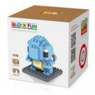 Squirtle mini blocks set