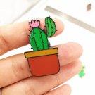 Cactus pin brooch