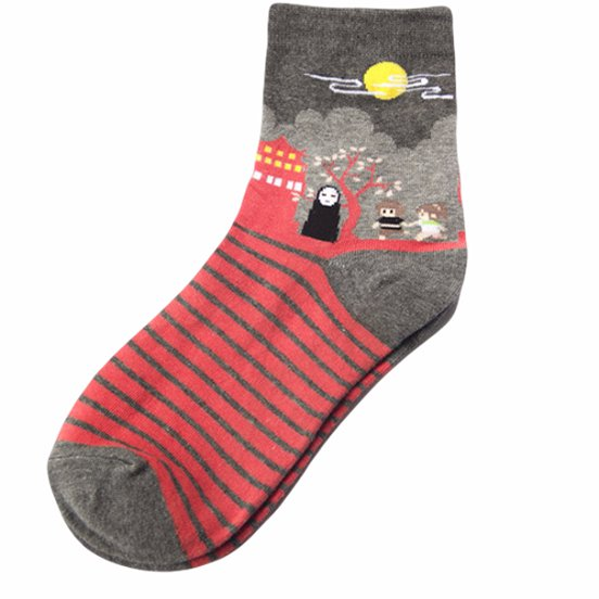 Spirited Away socks