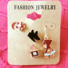 Little Red Riding Hood earring set
