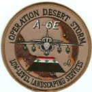 OPERATION DESERT STORM A-6E MILITARY AIRCRAFT PATCH