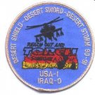 OPERATION DESERT SHIELD-STORM-SWORD MILITARY CAMPAIGN PATCH