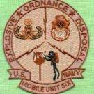 U.S. NAVY SEAL TEAM 6 MOBILE EXPLOSIVE DISPOSAL UNIT PATCH