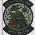 GHOSTRIDERS 158th AVN USMC MILITARY HELICOPTER PATCH