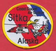 United states coast guard sitka alaska air station patch for Michaels craft store rancho san diego