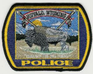 Buffalo Wyoming Police Patch