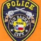 Gun Barrel City Texas Police Patch