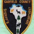 Garfield County Sheriff Washington Police Patch