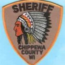 Chippewa County Sheriff Wisconsin Police Patch