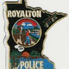 Royalton Minnesota Police Patch