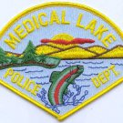 Medical Lake Washington Police Patch