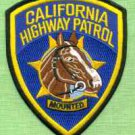 California Highway Patrol Mounted Division Police Patch
