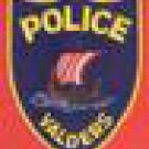 Valders Wisconsin Police Patch